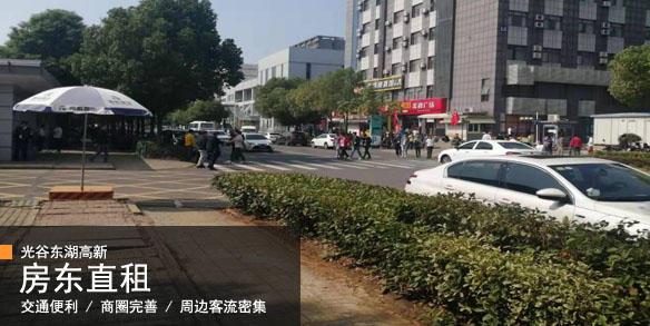 (个人)光谷东湖高新临街餐饮旺铺房东直租