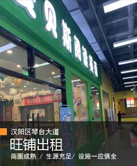 (个人)汉阳区琴台大道临街培训机构、健身房餐饮旺铺出租